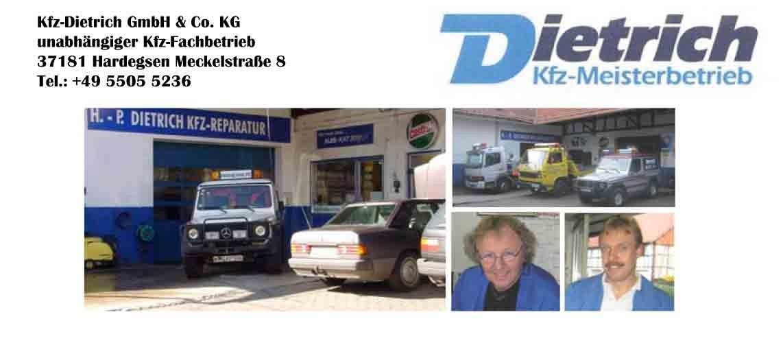 Bild von Kfz-Dietrich GmbH & Co. KG Hardegsen Gladebeck 37181